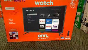 "Brand New ONN HD Smart TV! 32"" open box w/ warranty PZ for Sale in Georgetown, TX"