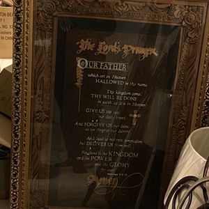 Beautiful Frame The Lords Prayer Picture for Sale in Columbia, SC