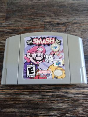 N64 Super smash bros for Sale in San Diego, CA