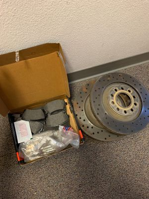 2002-2008 Audi A4/S4 rear brake pads/rotors B6/B7 for Sale in Eau Claire, WI