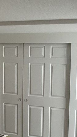 White Doors Size 36Inches By 8 Ft 4 I Have 4 Closet Doors for Sale in Tustin,  CA