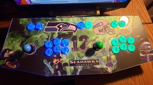 Arcade with 32k games and Seahawk skin for Sale in Puyallup, WA