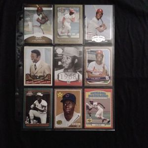 (9) Different LOU BROCK Baseball Card Lot St Louis Cardinals for Sale in Redmond, WA