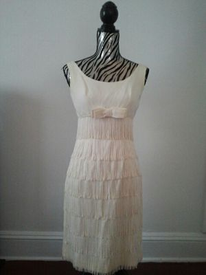 Cream Fringe Dress for Sale in Cleveland, OH