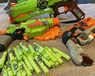 Lot Of 3 Nerf Guns And Darts for Sale in Los Angeles,  CA