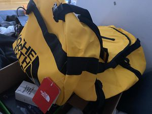 XXL yellow outdoors waterproof North face duffel bag for Sale in West Hollywood, CA