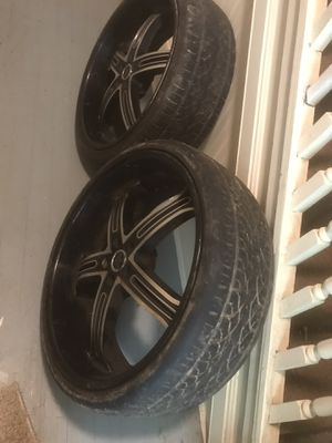 24s inch rims for Sale in Statesville, NC