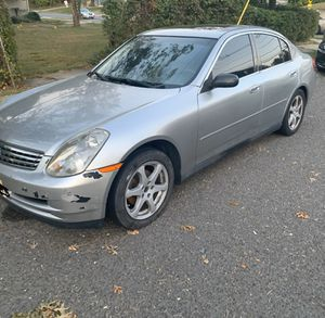 INFINITI G35x PARTS ONLY for Sale in Stratford, NJ