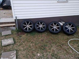 Niche rims with new tires for Sale in Manassas Park, VA