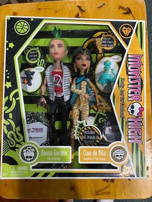 MONSTER HIGH dolls Cleo De Nile and Deuce Gorgon Brand new never opened for Sale in Williamsville, NY
