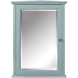 Hamilton 20 in. W x 27 in. H x 12 in. D Corner Bathroom Storage Wall Cabinet in Sea Glass for Sale in Victorville, CA