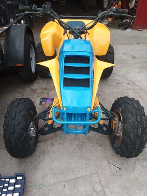 Package deal 85 lt250r quad and 05 cr450r dirt bike and trailer for Sale in Fullerton, CA
