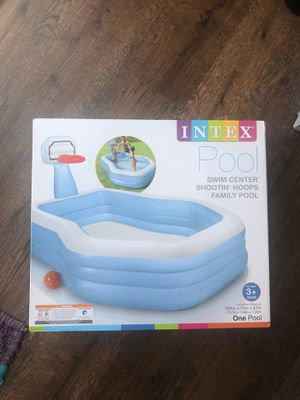 Intex Swimming Pool with Basketball Shooting Hoops Piscina for Sale in Lakewood, CA