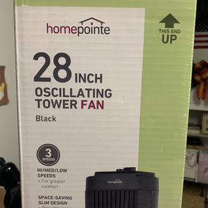 Westpointe 27-Inch 3-Speed 120V Oscillating Tower Fan for Sale in Yonkers, NY