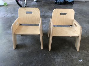 Lakeshore wooden toddler chairs for Sale in Fountain Valley, CA