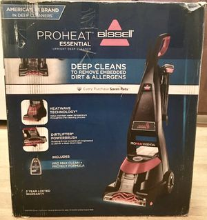 Brand New Bissell Proheat Essential Full Size Carpet Cleaner (New In Sealed Box) for Sale in Portland, OR