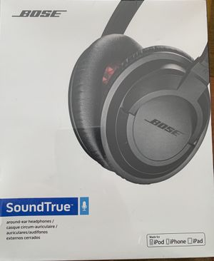Bose SoundTrue Headphones Around-Ear Style, Blac for Sale in Washington, DC