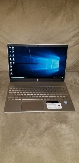 Touchscreen HP Laptop I5-8250U, 1TB, 8GB W/Programs for Sale in Bowie, MD