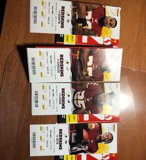 Redskins tickets for Sale in Alexandria, VA