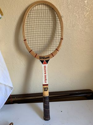 Vintage tennis racket for Sale in Oakland, CA