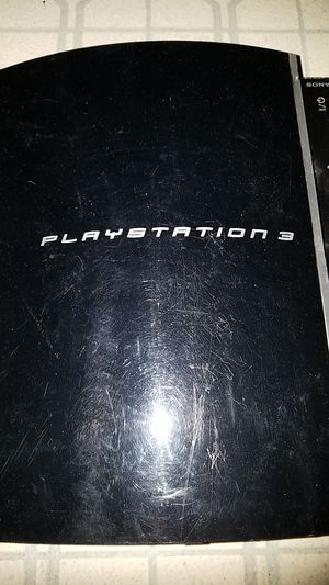 Playstation 3 console and power cord for Sale in Kent, WA