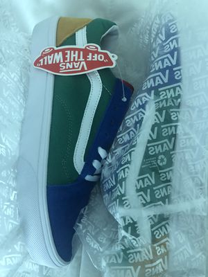 Vans Limited Edition Suede Colorblock Size 8/41 Men for Sale in Miami, FL