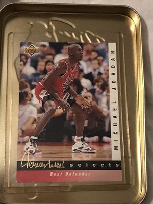 Michael Jordan 92-93 Upper Deck Jerry West Select #JW4 for Sale in Alexandria, VA