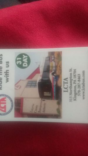 LCTA Bus Pass for Sale in Port Griffith, PA
