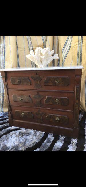 Antique dresser solid wood for Sale in Oakland, CA