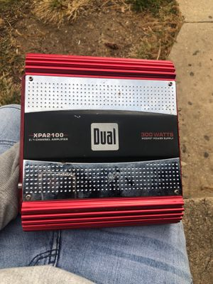 Dual Amplifier for Sale in Hyattsville, MD