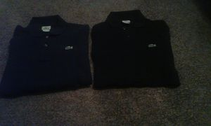 Lacoste long sleeve shirts medium for Sale in Los Angeles, CA