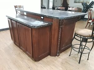 kitchen island with granite for Sale in Edinburg, TX