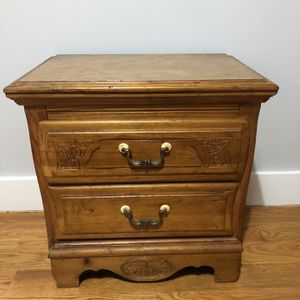 Antique Wooden Nightstand for Sale in New York, NY