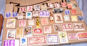 Huge lot of Antique & Vintage Stamps from around the world for Sale in Albuquerque, NM