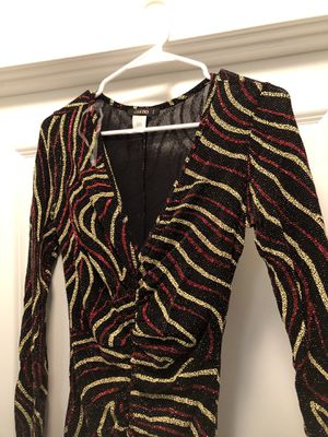 Black and red yellow Zebra party dress- L for Sale in Silver Spring, MD