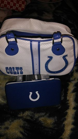 NFL Purse and matching wallet Indianapolis colts for Sale in Butte, MT