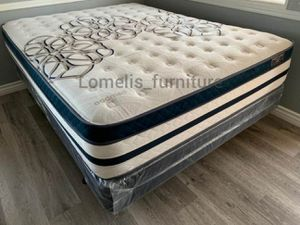 Queen siesta euro pillow top mattresses on sale for Sale in City of Industry, CA