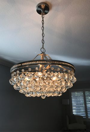 Crystal looking chandelier for Sale in Irvine, CA