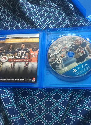 Madden 17 for PS4 for Sale in Kentwood, MI