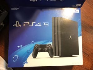 PlayStation 4 PRO 1 TB GAME CONSOLE great shape adult owned for Sale in Los Angeles, CA
