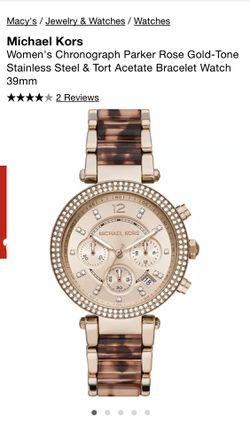 Micheal Kors Watch for Sale in Fontana,  CA