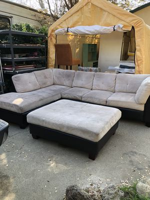 Sectional W/ Ottoman! for Sale in Rancho Cucamonga, CA