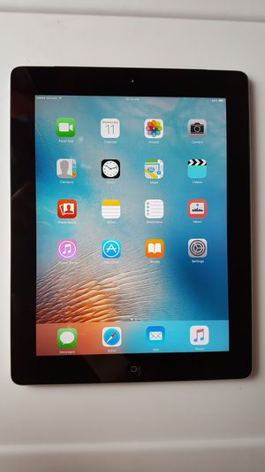 iCloud Unlocked Apple iPad 2, 2nd gen. 16GB Wi-Fi, 9.7-inch, iOS 9.3.5 Tablet for Sale in New York, NY