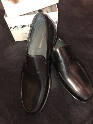 Italian Loafers. Moreschi. Purchased in Florence. Black Calf Leather. Brand New. NEVER worn. Men's size 7 US; 6 UK; 40 EU for Sale in Irving, TX