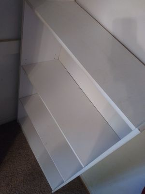 Clean, Sturdy Book shelf Storage shelves for Sale in Greeley, CO