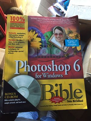 Photoshop 6 for Windows Bible for Sale in Claremont, CA