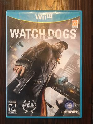 Watchdogs for Nintendo Wii U for Sale in Brentwood, CA