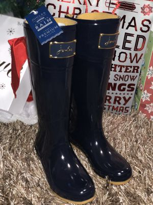 Brand New Women's Joules Evedon Rain Boots Size 6 for Sale in Marysville, WA