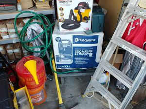 Husqvarna 32 psi gas pressure washer brand new in box shop vac brand new in box Hitachi grinder brand new in the box for Sale in Jacksboro, TN