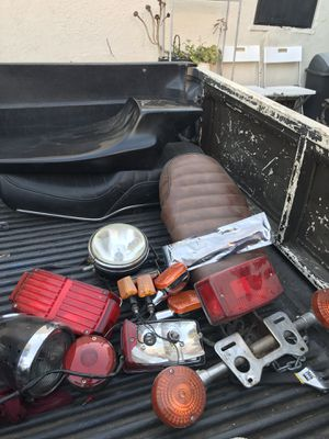 Motorcycle lights and seats for Sale in Los Angeles, CA